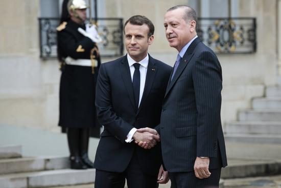 Emmanuel Macron rencontre Erdogan ce vendredi à Paris