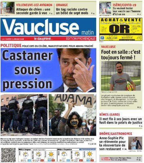 Nouvelles - DIRECT. Suivez les manifestations contre les violences policières en France