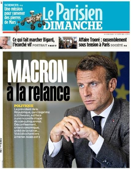 Nouvelles - DIRECT. Covid-19, déconfinement, violences policières… Suivez en direct l'allocution d'Emmanuel Macron