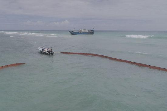 Pêcheurs chinois et milices de la mer 604623478256bf5297a1b773